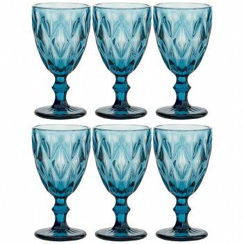 Набор бокалов для вина ромбо 6шт. серия muza color 324мл. / в=17 см. (кор=