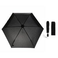Зонт автоматический, 3 сложения, 6 спиц, r = 49 см, цвет чёрный