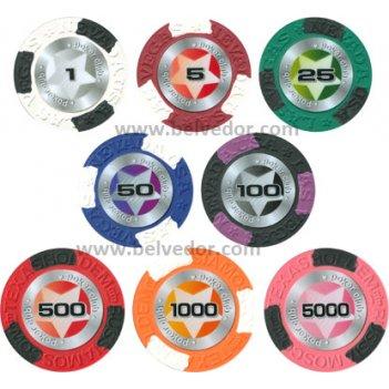 фишки для покера с номиналом