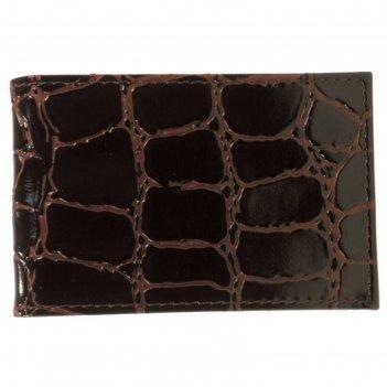 Визитница v-19-14,11,1*1*7,лист на 1 визитку, 20 шт,бордовый
