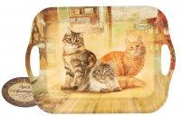 Поднос серия сибирская кошка