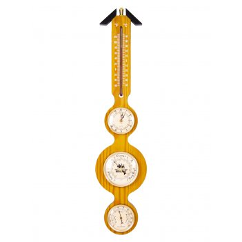 Метеостанция настенная brigant: барометр, термометр, гигрометр