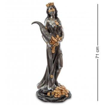 Ws-654 статуэтка фортуна - богиня удачи