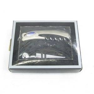 Набор сомелье 2пр (штопор, пробка) в подарочной коробке, l12...