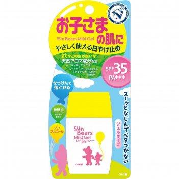 Увлажняющий солнцезащитный гель для чувствительной кожи лица и тела omi br