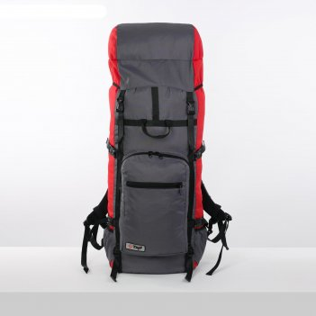 Рюкзак туристический, 90 л, отдел на шнурке, наружный карман, 2 боковые се