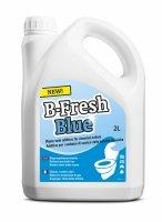 Жидкость для биотуалета b-fresh blue (в нижний бак, синяя, объём 2л)