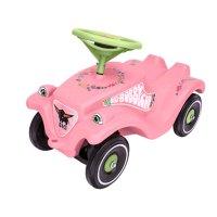 Детская машинка-каталка big bobby car classic, розовые цветы