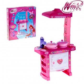 Игровой набор кухня волшебство, феи винкс: блум, свет, звук №sl-00140a