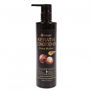 Кондиционер для волос масло ши и кератины 500 мл