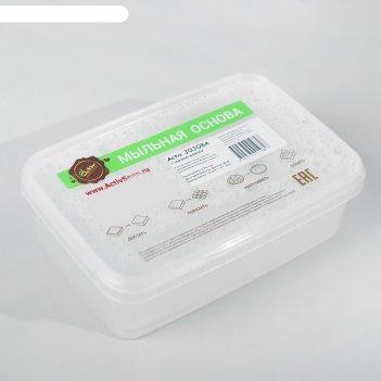 Твердая мыльная основа с маслом жожоба, 1 кг