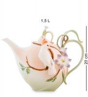 Fm-79/ 3 заварочный чайник попугай какаду (pavone)