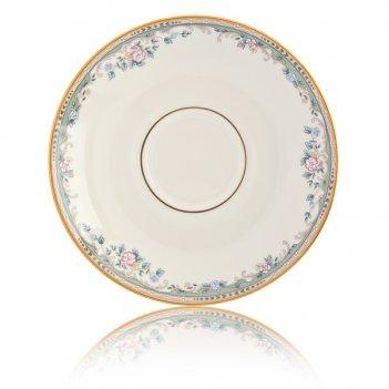 Блюдце для чашки чайной 15см весенняя аллея