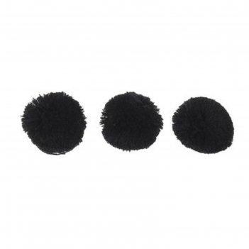 Бомбоны 4,5см черный, набор 200 шт.