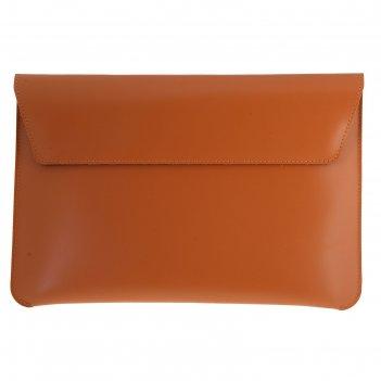 Чехол для ноутбука, коричневый