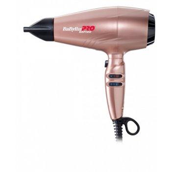 Фен 2200w ultralight rapido розовое золото