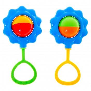 Погремушка «василёк», цвета микс