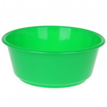 Таз 10 л кливия, цвет зеленый