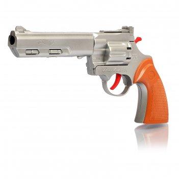 Пистолет «рейнджер плюс голд», стреляет 8-ми зарядными пистонами, цвета ми