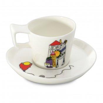 Чашка для эспрессо codriez eclipse, 0.08 л, 2 шт.