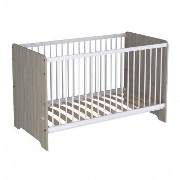 Кроватка-трансформер polini kids simple nordic 140 х 70 см, цвет вяз