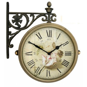Настенные часы на подвесе b&s m195-f9