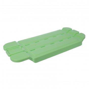 Полка-сиденье для ванны морелла цвета микс