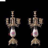 Канделябры виктория на 5 свечей (2 штуки)