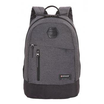 Рюкзак из ткани grey heather с отделением для ноутбука 13 (22 л) wen