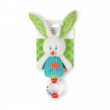 Погремушка-трещотка заяц макс