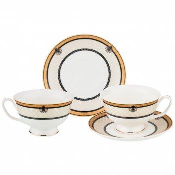 Чайный набор на 2 персоны 4пр. 240мл (кор=18наб.)