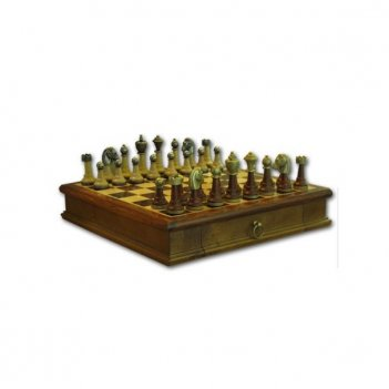 Шахматы staunton with wood 33см