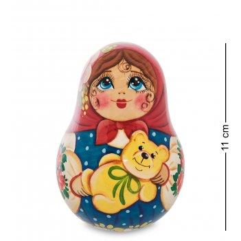 Мр-24/76-b неваляшка девочка с медведем