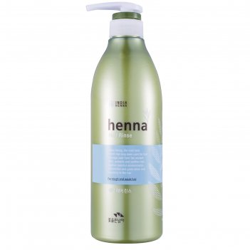 Ополаскиватель для волос henna hair rinse увлажняющий, 730 мл