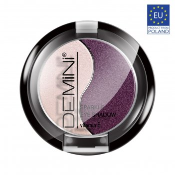Тени для век demini sparkle eye shadow с витамином е, тон 06