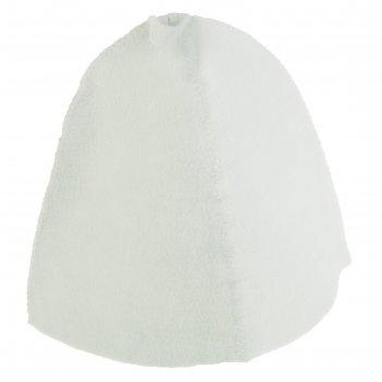 Банная шапка, эконом, синтетический войлок