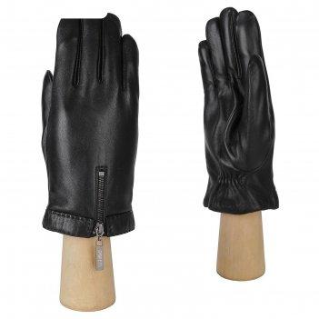 Перчатки мужские, натуральная кожа (размер 10) черный