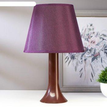 Лампа настольная 13204 1хе27 15вт фиолетовый d=22 см, h=34,5 см