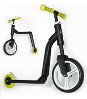 Детский самокат-беговел трансформер scoot&ride highway freak желтый