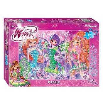Мозаика puzzle 60 winx - 2 (rainbow)
