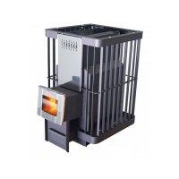 Печь банная parrma-20 пс встроенный парогенератор, стеклянная дверь