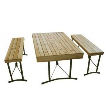 Набор мебели деревянный в кейсе