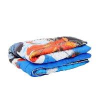 Одеяло панно 1,5 сп тачки 140*205 см леб.пух, поплин, 200 г/м2