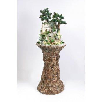 Напольный фонтан «восточные мотивы дерево»