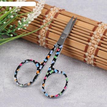 Ножницы для вышивки, 9,5 см, цвет микс