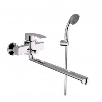 Смеситель для ванны zipponi queen, 1-рычажный с дивертором, излив 350 мм,