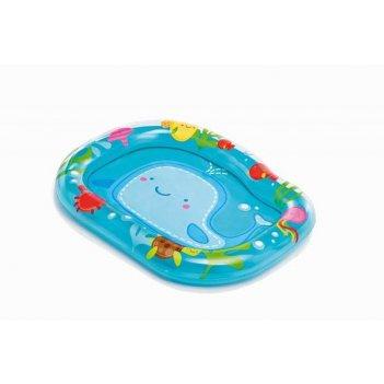 Бассейн детский маленький кит, 1-3 года, 111,76х83,82х12,7см