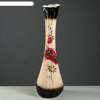Ваза напольная форма лилия эксклюзив