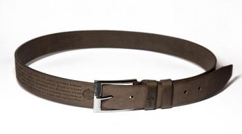 00512 пояс ремень мужской кожаный, однослойный, не прошитый. ширина 40 мм