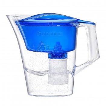 Фильтр-кувшин 2,5 л барьер-танго, с узором, цвет синий